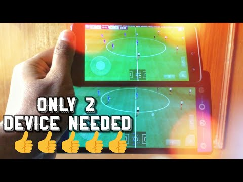 How To Play Dream League Soccer 2018 Multiplayer || Only 2 Devices Needed Very Easy Method