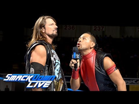Nakamura reveals stipulation for the title match at Money in the Bank: SmackDown LIVE, May 22, 2018