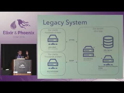 ElixirConf 2016 - Migrating an Invoicing System to Elixir/Erlang by Norberto Ortigoza