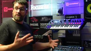 Novation Mininova, Ultranova and Bass Station synth comparisons..