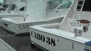 CABO 38 Flybridge Sports fishing boat