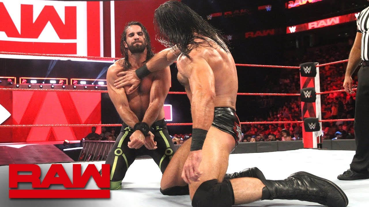 Seth Rollins takes on Drew McIntyre in high-stakes main event: Raw, July 9, 2018