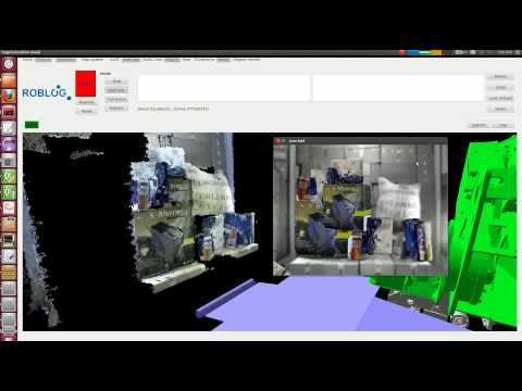 RobLog Advance Demonstrator featuring Cognitive Object Recognition