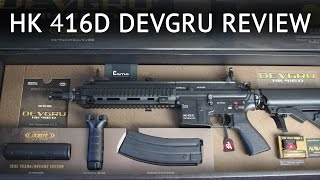 Tokyo Marui - HK 416D Devgru - Review Chrono & Shooting