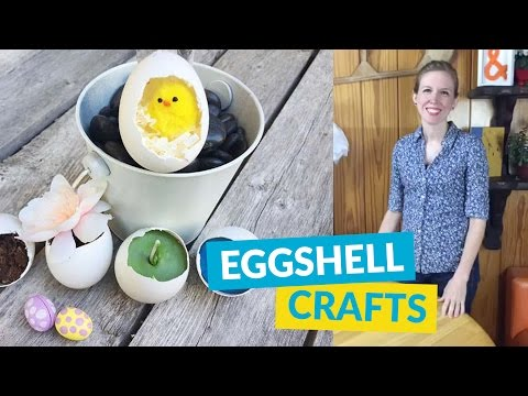 Cool Crafts With Eggshells!