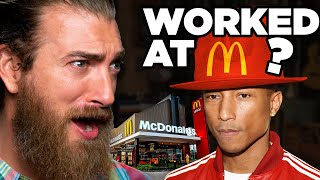Celebrity Fast Food Jobs (Match Game)