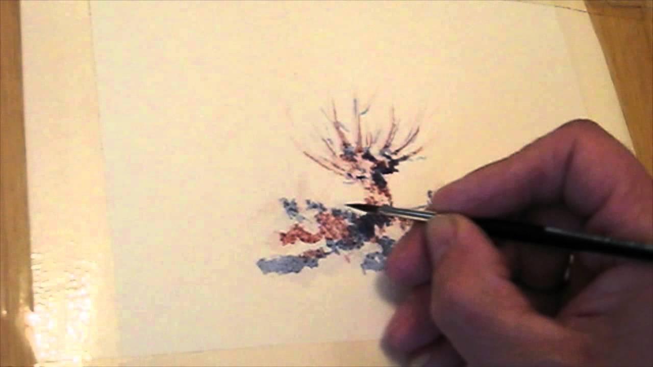 Aquarell malen - YouTube