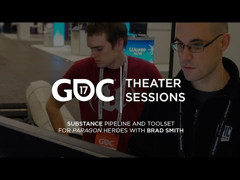 GDC 2017: Substance pipeline and toolset for Paragon heroes w/ Brad Smith