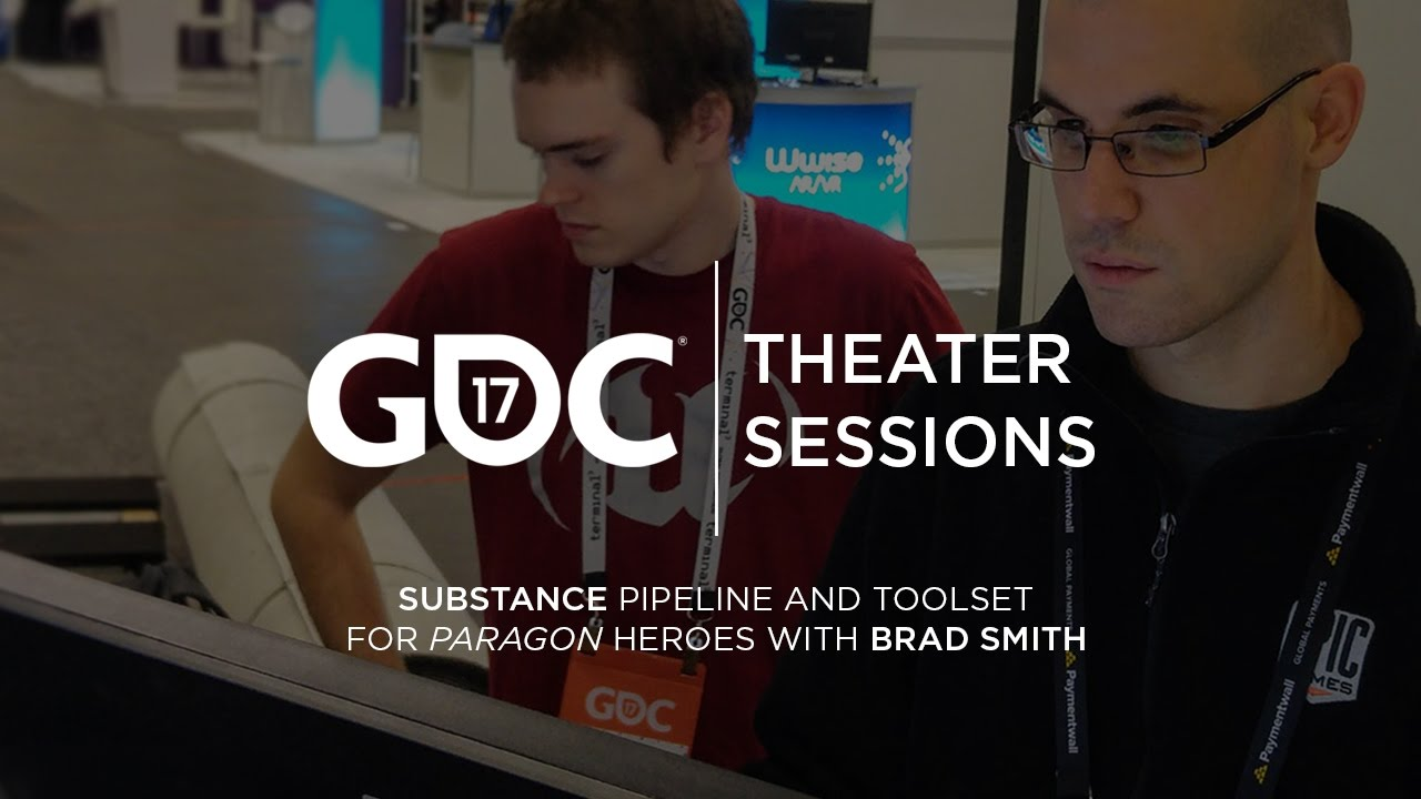GDC 2017: Substance pipeline and toolset for Paragon heroes w/ Brad Smith  by Substance
