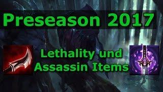 LoL Preseason 2017 - Wie funktioniert Lethality? / Assassin Items [Season 7 Guide #6]