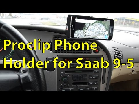 Brodit Proclip For Saab 9-5 And Samsung Galaxy S5 With NFC Mod - Trionic Seven