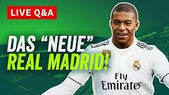 Real Madrid Live Q&A: Die Zukunft der Königlichen mit Mbappé, Vinicius Jr, Odegaard