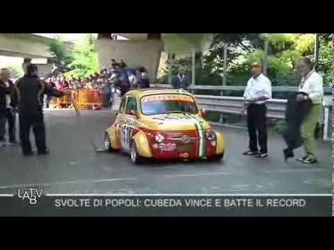 SVOLTE DI POPOLI: CUBEDA VINCE E FA IL RECORD