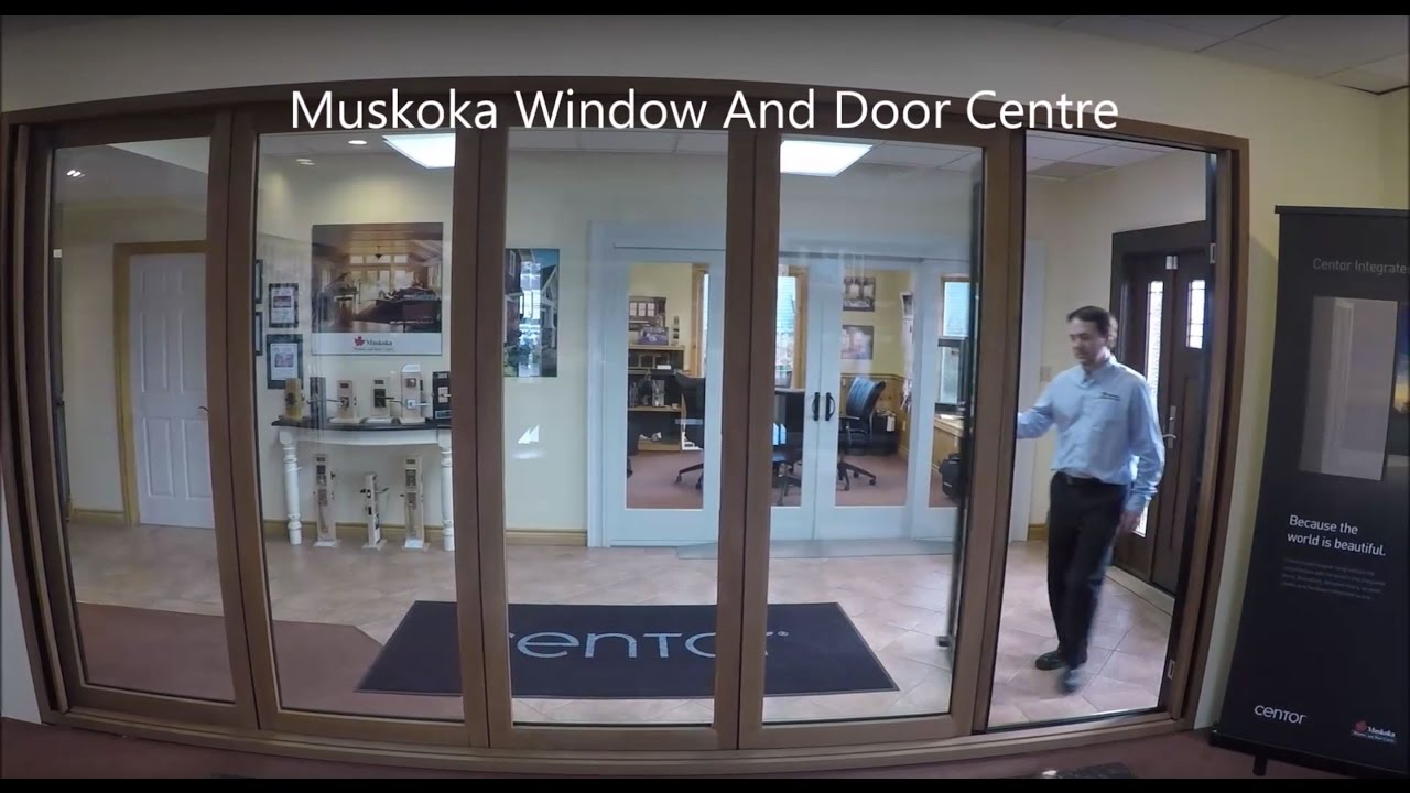 Centor Integrated Bi-Folding Door - YouTube