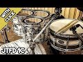 Power Rock 140 BPM Drumless Backing Track For Drummers With Click JTFD 1C mp3