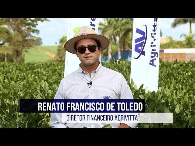 Renato Francisco de Toledo   Diretor Financeiro AgriVitta®️