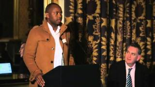 AGM 2015: Lazarus Shiimi (AKA Gazza)ln the youth of Namibia