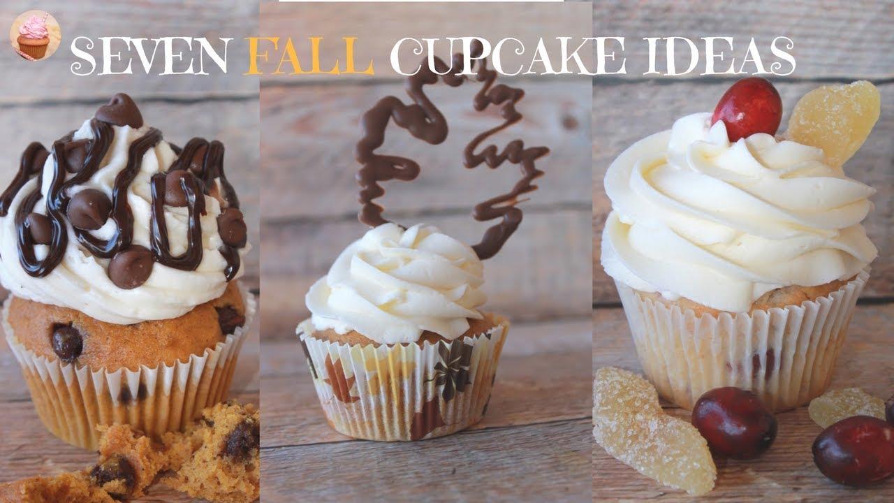 Fall Cupcakes| Thanksgiving Cupcakes | Pumpkin Cupcakes | How Decorate Cupcakes