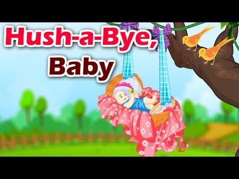 Hush A Bye Baby | English Nursery Rhyme With Lyrics | Kidda Junction
