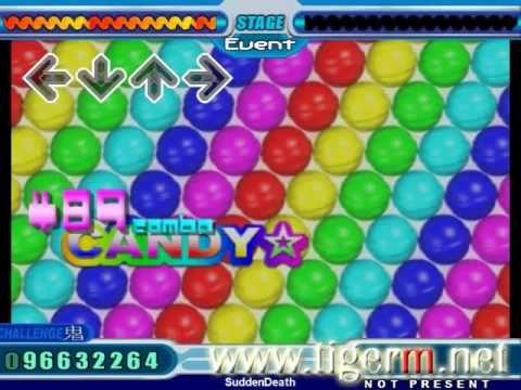 Stepmania - DDR 6th Mix (Max) - Candy* (TIGER M 10-foot Wild Run Steps)