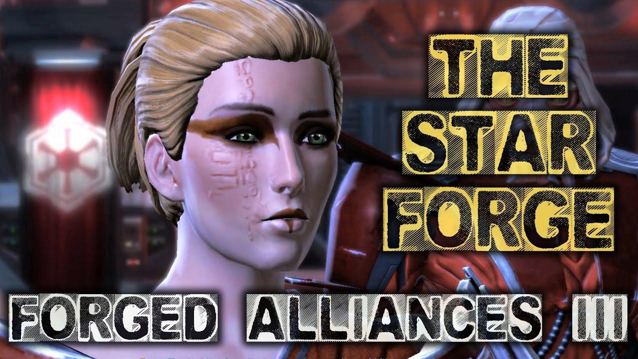 SWTOR Forged Alliances Part 3: The Star Forge - Rakata Prime - Empire Intro