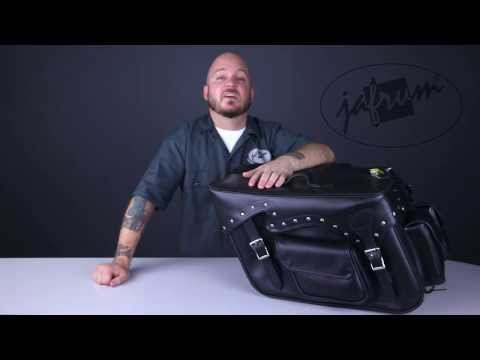 SD4085 Motorcycle Saddlebags Review at Jafrum.com