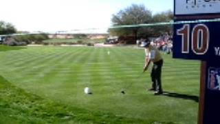 Scottsdale golf Phil Mickleson 2007 Hole-in-One par 4 #10