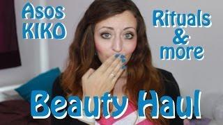 Großer Beauty-Haul *Rituals, Asos, Kiko* Thumbnail