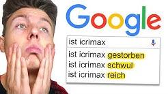 Ich Google mich selbst! (Seite sagt ich bin tot) 😱