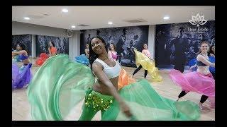 Double Veils Belly Dance at Fleur Estelle Dance School