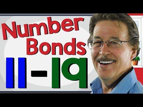 Number Bonds 11-19 | Math Song for Kids | Jack Hartmann