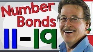 Number Bonds 11-19   Math Song for Kids   Jack Hartmann