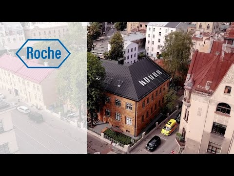 Guided tour throughout the renovated Roche Building in Riga