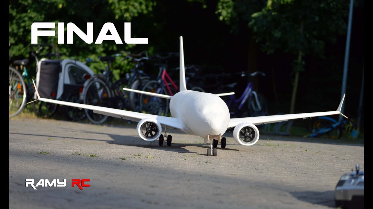 Boeing 737 MAX-8 RC airplane DIY project | FINAL - Ramy RC