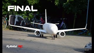 Video Boeing 737 MAX-8 RC airplane DIY project | FINAL download MP3, 3GP, MP4, WEBM, AVI, FLV Agustus 2018