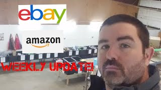 Weekly Update! Amazon And Ebay Selling Update!
