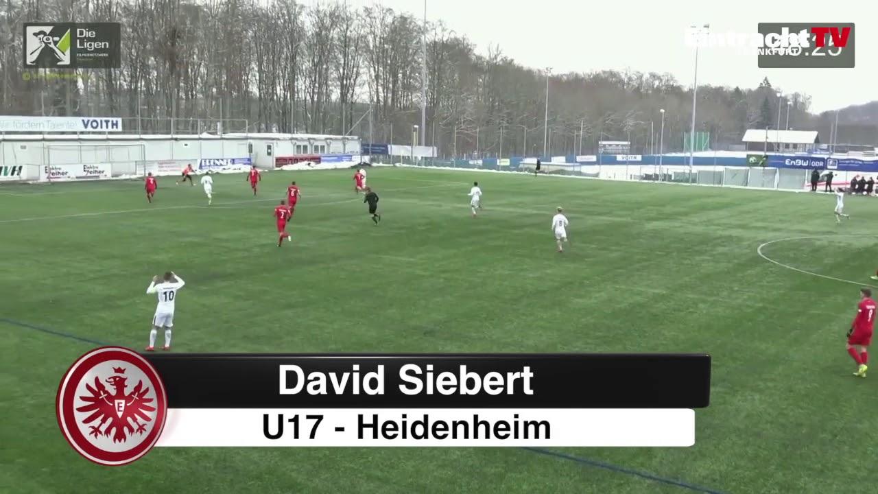 Kandidat Für Das Tor Des Monats Dezember 2017 David Siebert U17