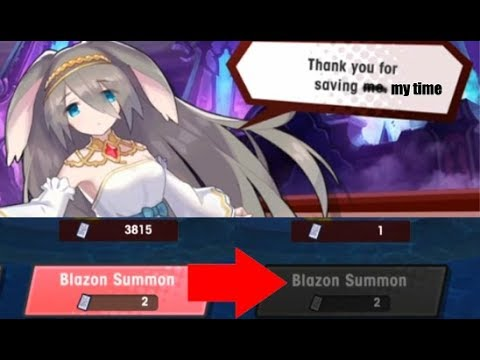 Dragalia Lost - How to clean up Blazons quickly after a Raid Event