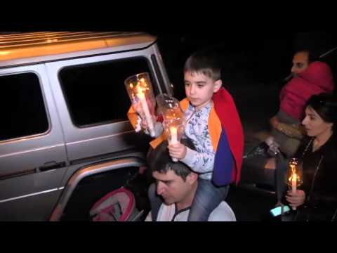 Факельнае шэсьце ў Армэніі <#РадыёСвабода>