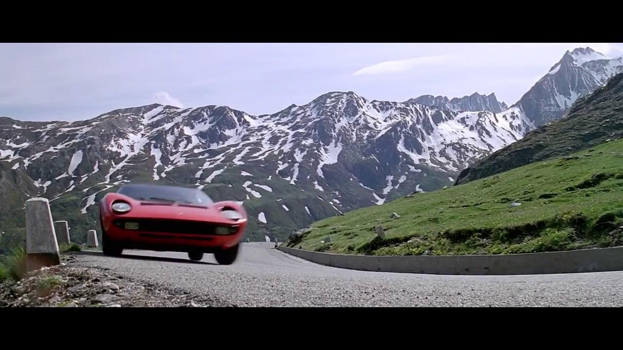 Lamborghini Miura P400s The Italian Job 1969 Youtube