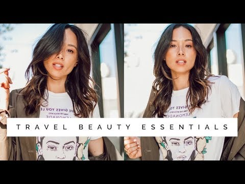 My Beauty Travel Essentials | Skincare & Makeup | Aja Dang