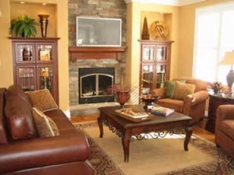 Easy DIY Living Room Fireplace Design Decorating Ideas