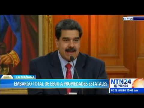 Trump bloquea todos los activos del régimen venezolano en EEUU