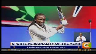 Paralympian Muchai wins top prize