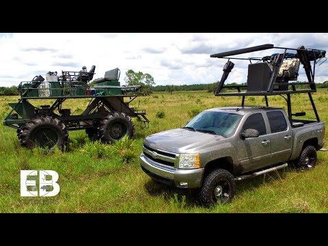 {{You've NEVER Seen This Before!}} CUSTOM Hunting Truck And Swamp Buggy
