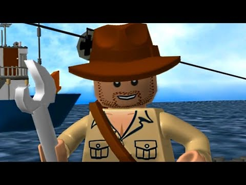 LEGO Indiana Jones - Submarine Attack! Cutscene Movie Cinematic