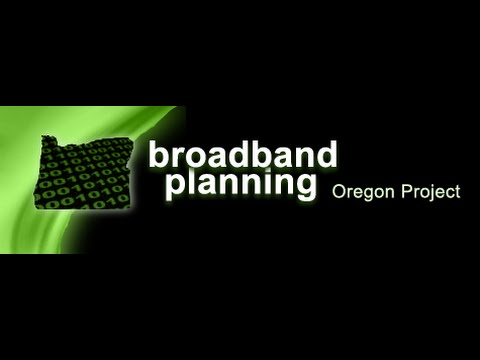 Oregon Broadband Planning Outreach promotional video