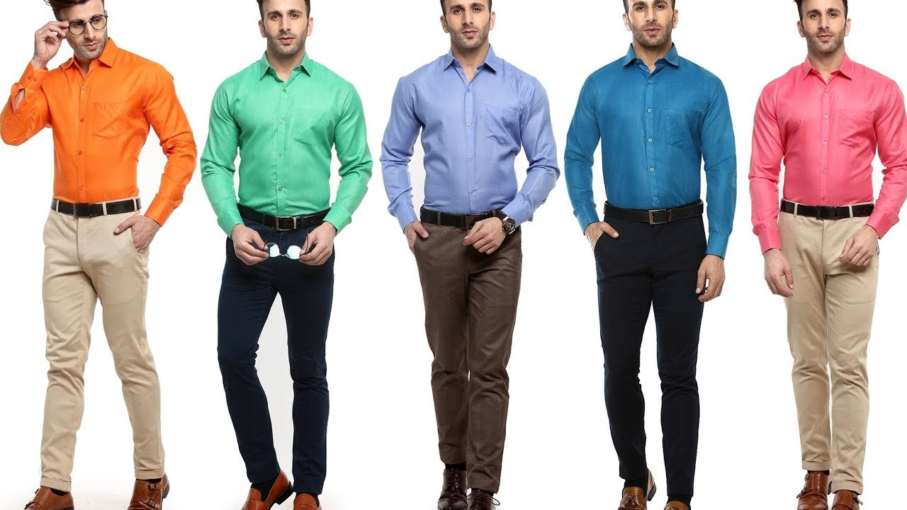1eb9f42c01 Office Wear Clothing For Men Formal Dress Colour Combination Men s ...