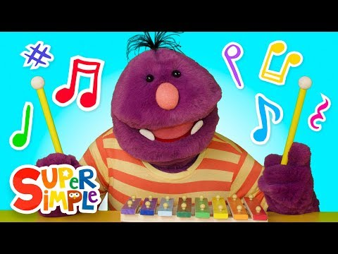 Learn About Music with Milo The Monster | Music Instruments For Kids