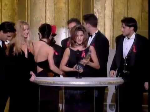 """""""Friends"""" Wins at the 1995 Peoples Choice Awards"""